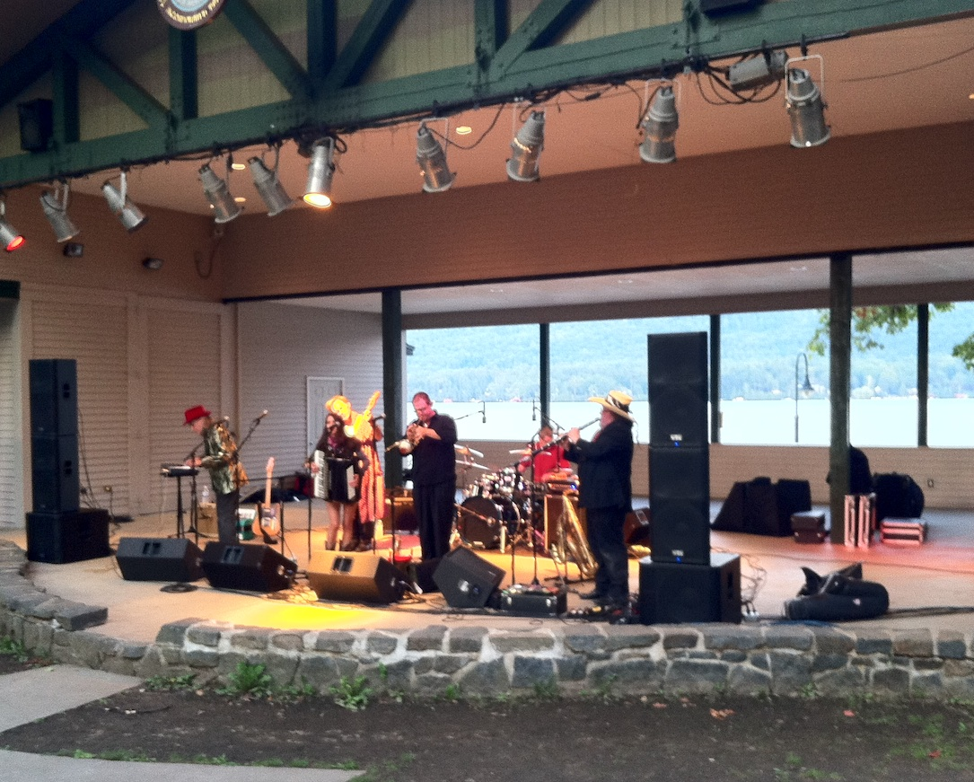 Brave Combo playing in Lake George, New York