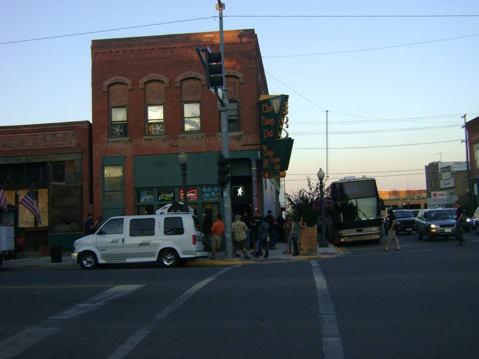 Shooter Jennings' Bus in Anaconda, Montana